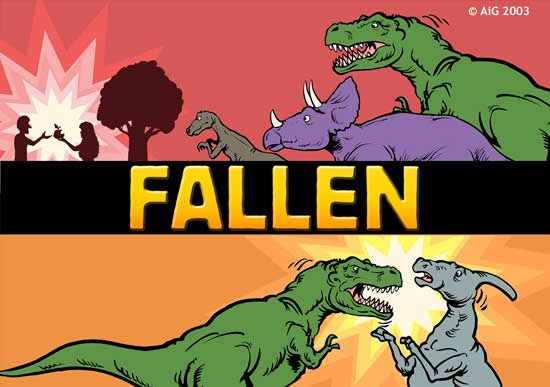 Dinosaurs after the Fall