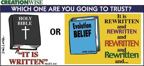 The Bible vs Evolution