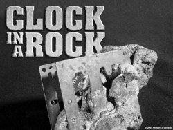 Clock in a Rock