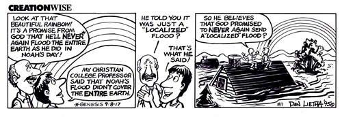 Local Flood Comic