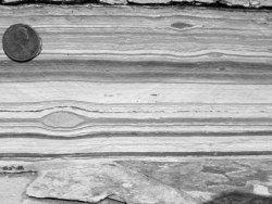 Finely Laminated Sedimentary Layers