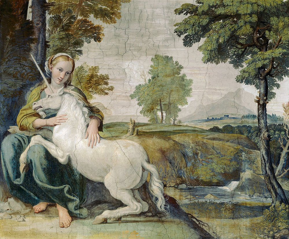 Virgin and Unicorn