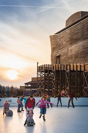 Ark Encounter Glice Skating Rink