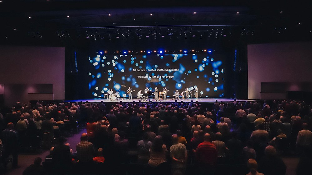 Concert inside the Answers Center at the Ark Encounter