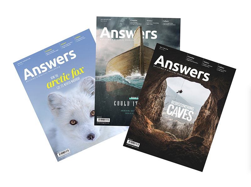 Answers Magazine Covers