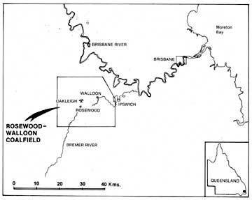 Location of Oakleigh Mine