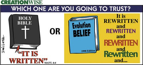 The Bible vs Evolution