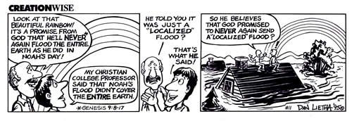 Local Flood Comic