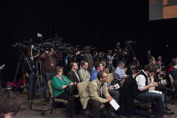 Media members