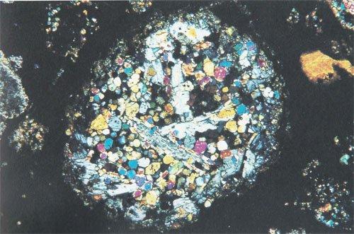 Porphyritic Olivine-Pyroxene Chondrule