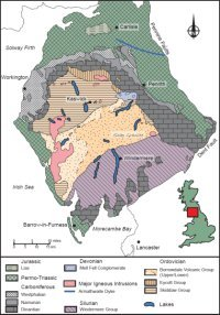 Geology of the Lake District, northern England