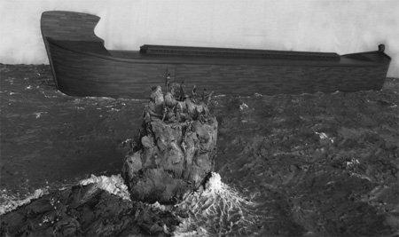 Waters Rising Around Noah's Ark