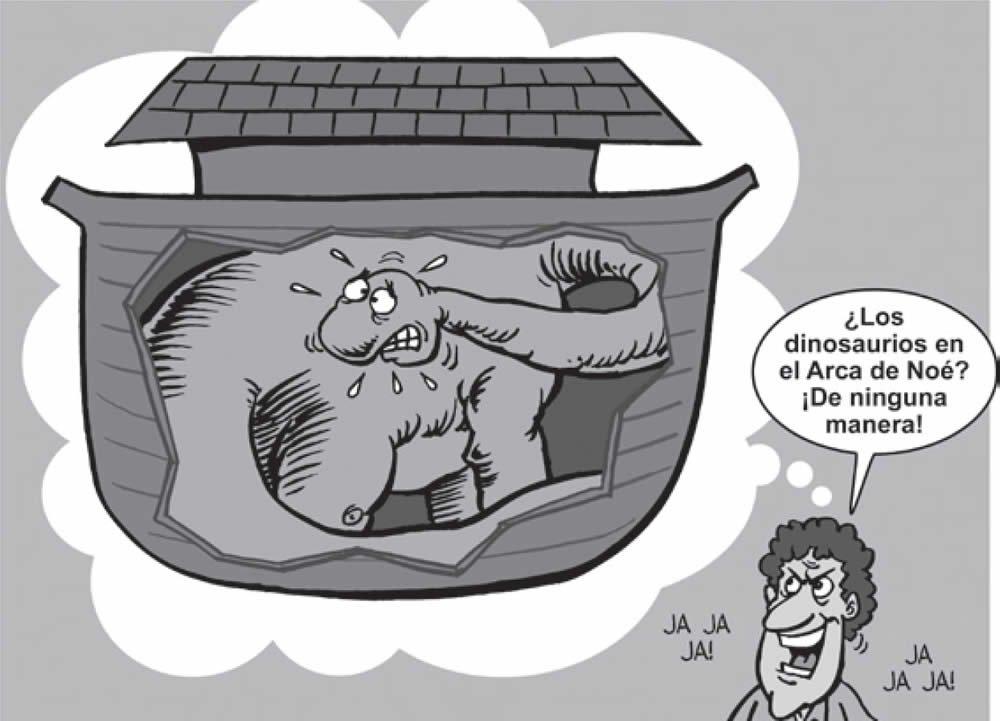 Los dinosaurios en el Arca de Noé