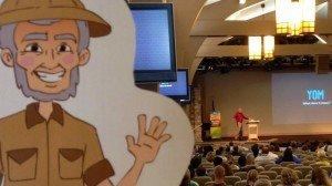 Flat Ken at Mega Conference