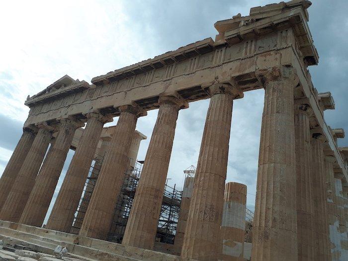 Athens' parthenon
