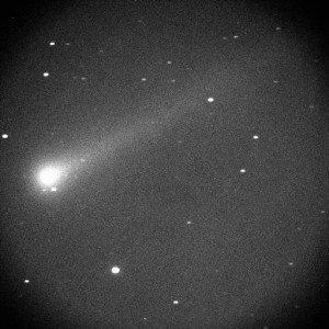 Comet ISON photograph