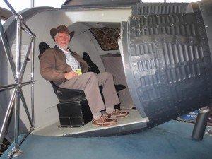 Goddard Space Flight Center Gemini capsule mockup