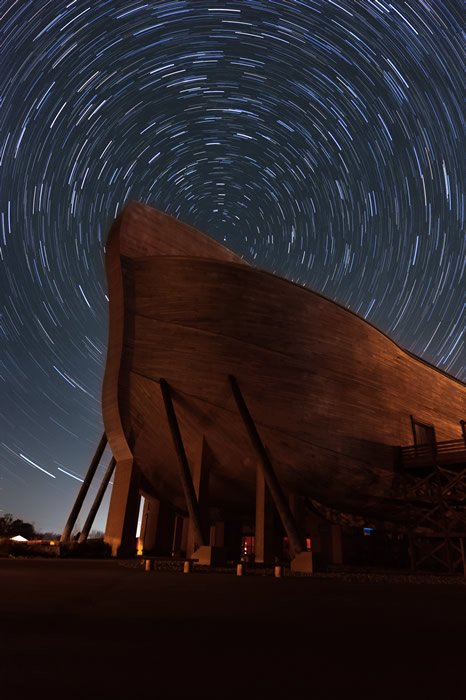 Star Trails at the Ark Encounter