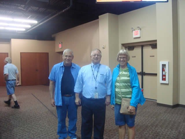 Debbie and Rik with speaker Dr. Tommy Mitchell