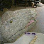 Dimetrodon closeup