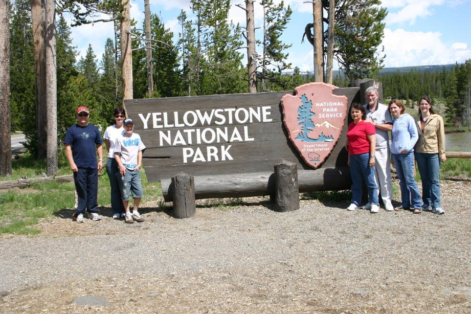 Hams in Yellowstone