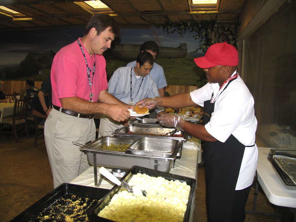 Lunch for AiG Staff and Volunteers