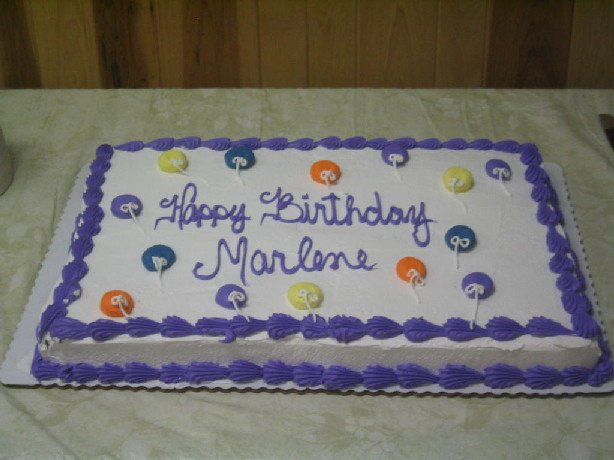 Marlene Sauer Birthday Party