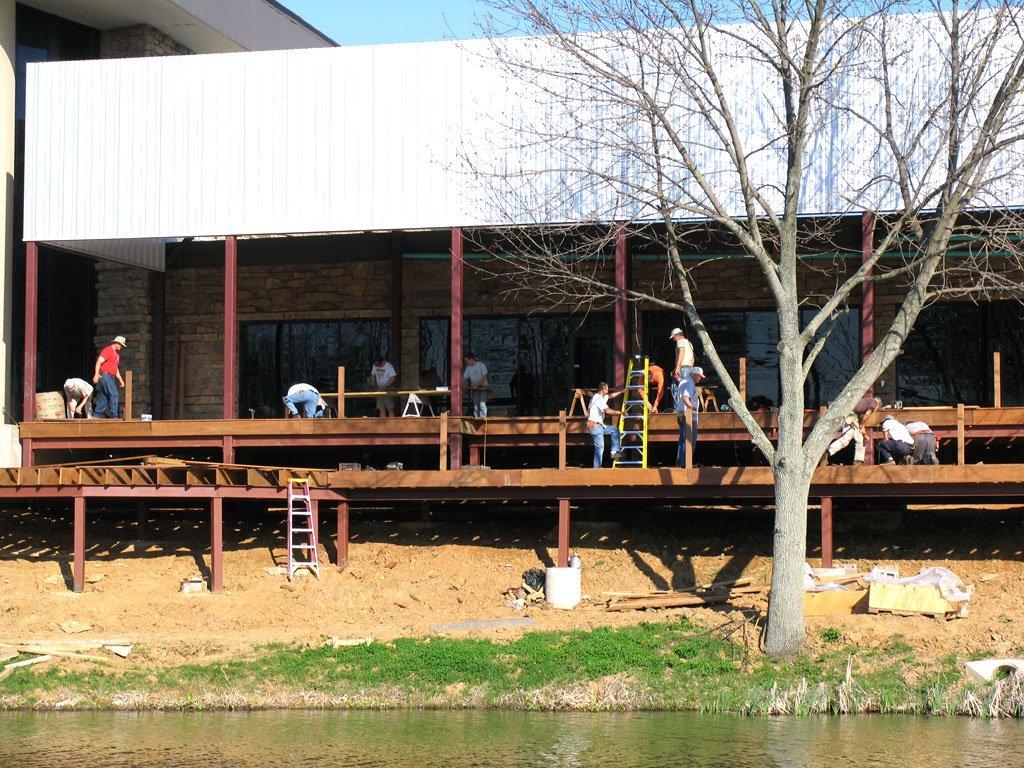 Cafe deck
