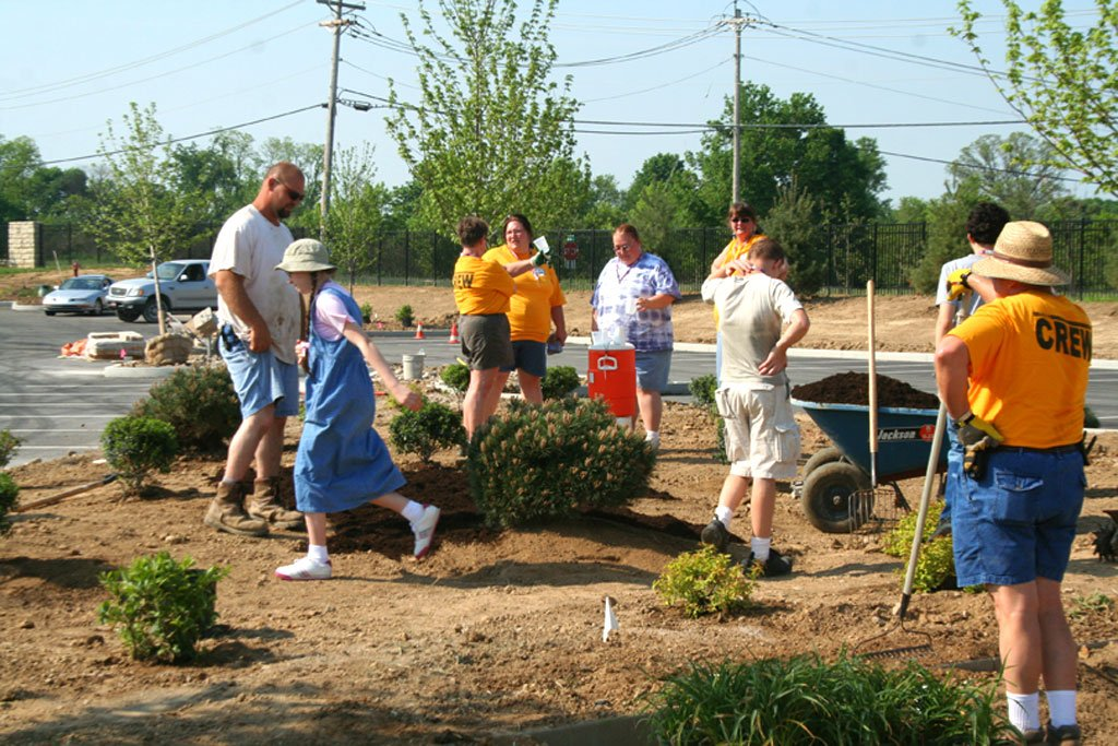 Volunteers at the Creation Museum