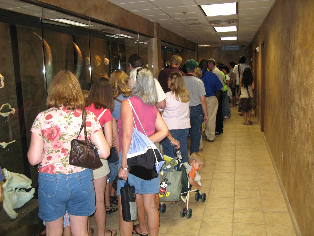 Visitors at the Creation Museum