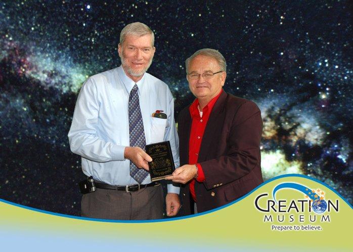 Ken Ham and Dr. David Crandall