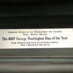 George Washington Award Plate