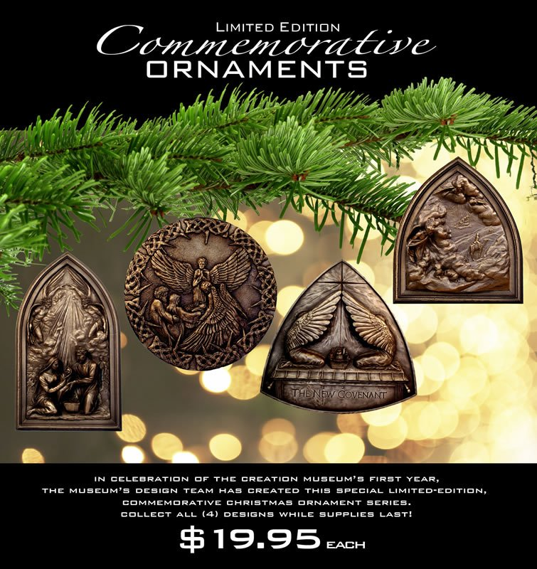 Creation Museum Ornaments