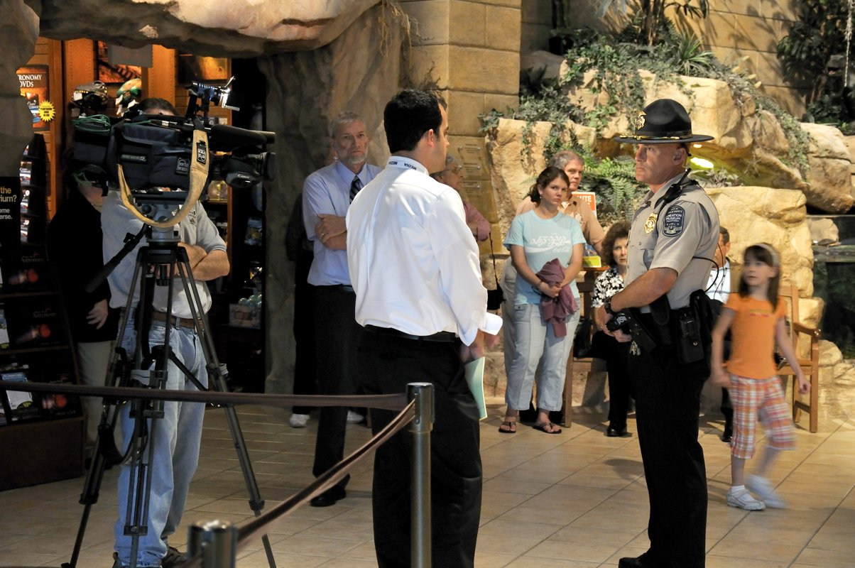 Interview with Creation Museum security