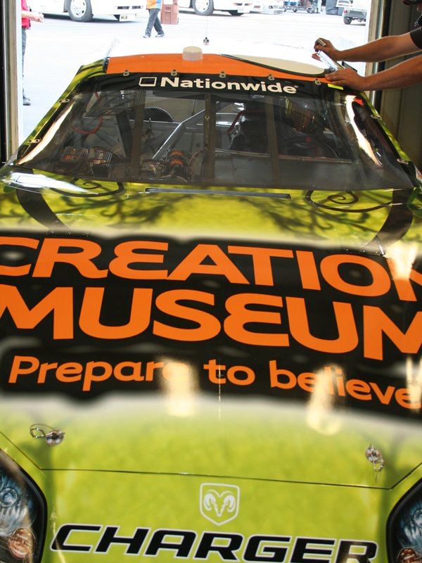 Hood with Creation Museum Logo