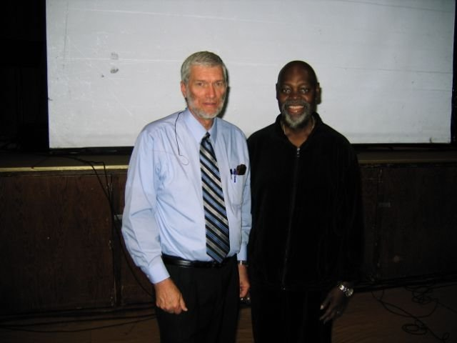 Ken Ham and Pastor Hutcherson