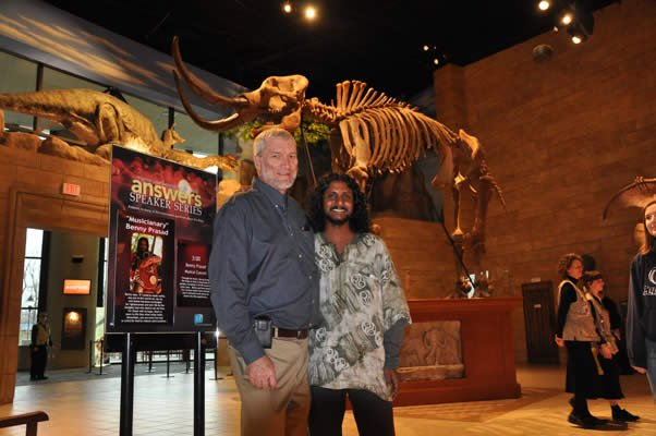 Ken Ham and Benny Prasad