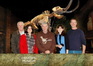 Hoskings visit the Creation Museum
