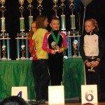 Taylen 5th place All-Around