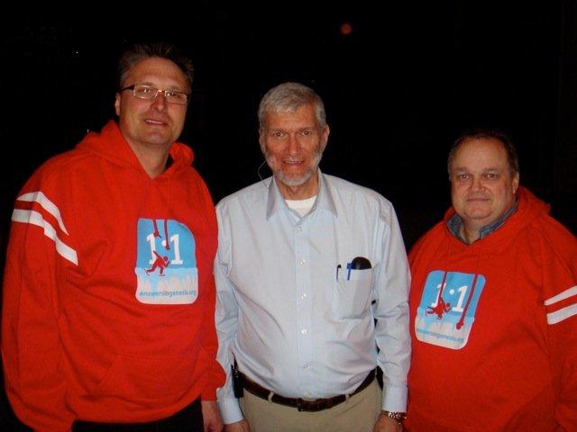 Ken Ham with Pastors