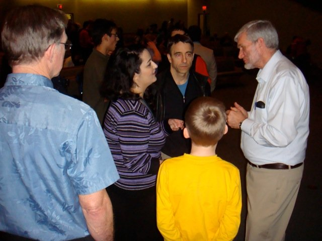 Meet and Gree with Ken Ham