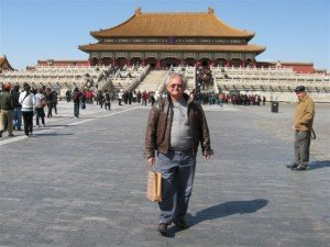 Dr. Crandall in the Forbidden City