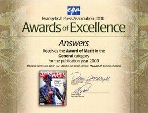 Award of Excellence: Award of Merit