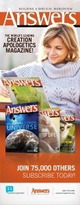 Answers Magazine Banner