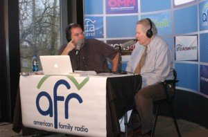 Dr. David Menton with Matt Friedeman