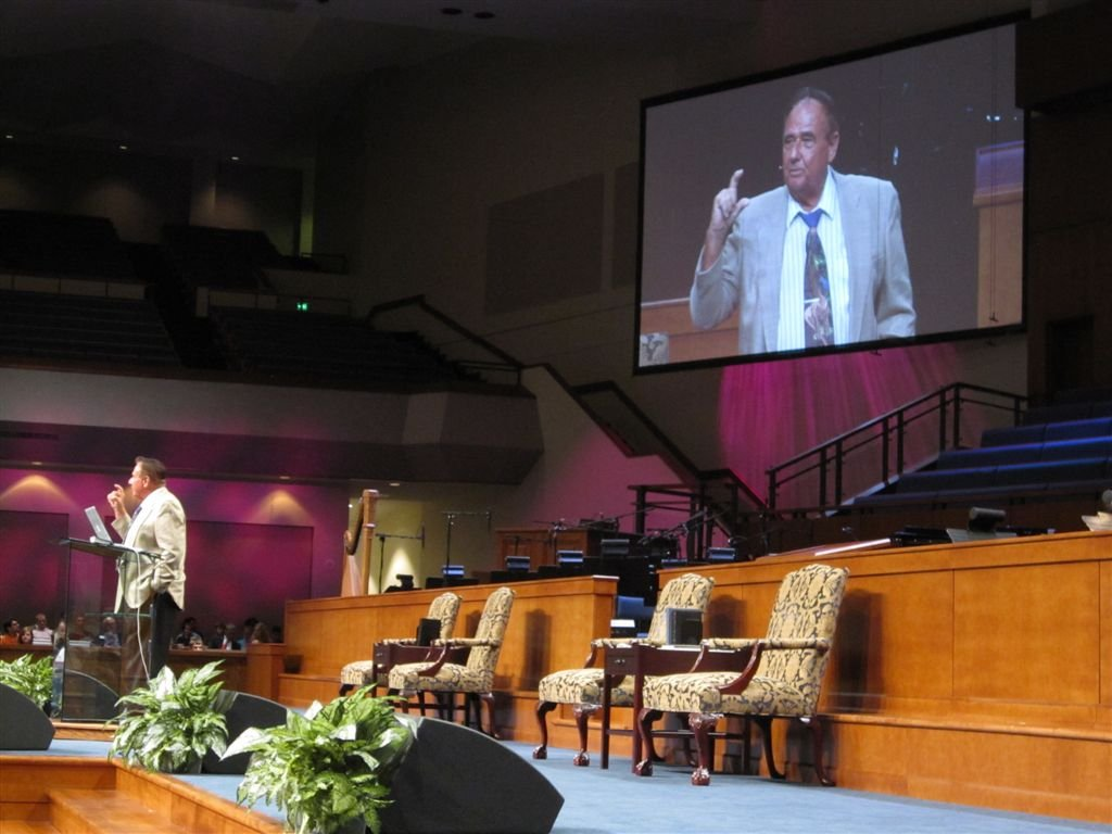 Dr. Gary Parker speaking Sunday evening