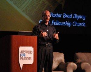 Pastor Brad Bigney speaking on biblical counseling.
