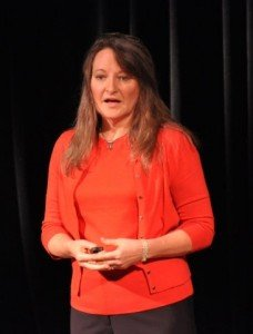 Karen Haught—speaker for the special women's sessions.