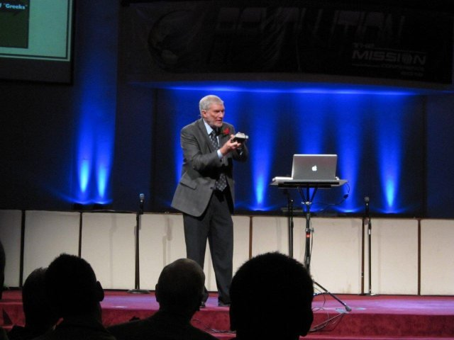 Ken Ham Speaking at Calvary Baptist Church, Covinginton, KY