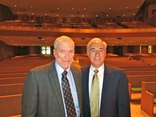 Senior Pastor and me